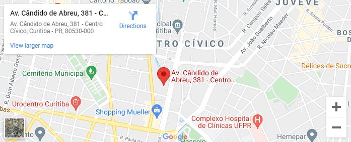 Mapa da Aldeia Cândido