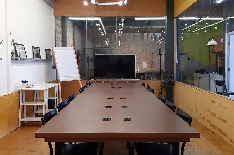 coworking sala de reunião